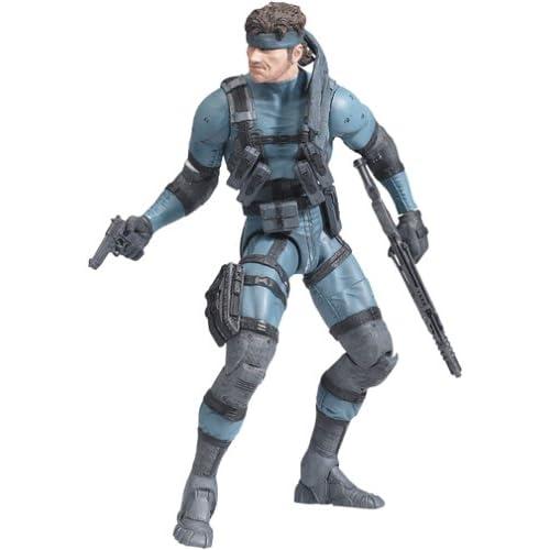 Amazon.com: McFarlane Toys Metal Gear Solid 2: Solid Snake ...