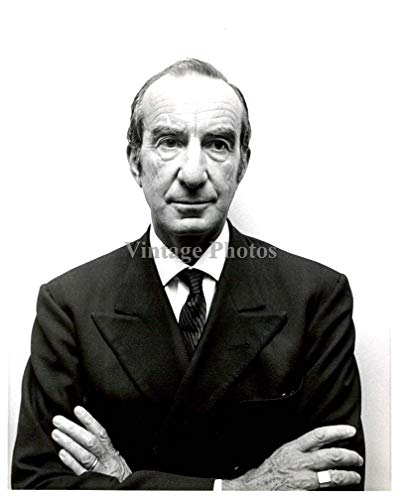 Vintage Photos 1966 Fashion Emilio Pucci Designer Business Man Suit 8X10