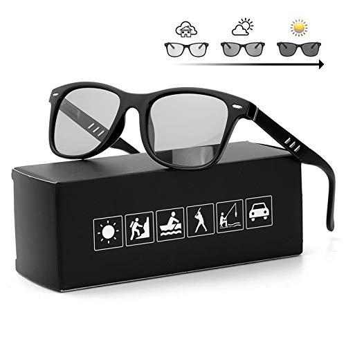 FIMILU Polarizadas Gafas de Sol Fotocromaticas Hombre Clásicas Gafas 100% Protección UVA UVB