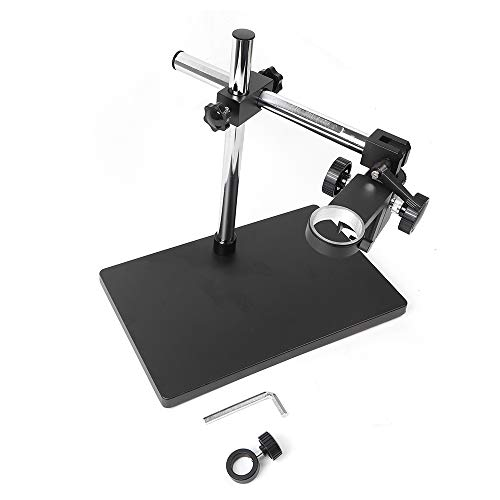 Heavy Duty Boom Large Stereo Table Stand 50mm Ring for Microscope Multi-Axis Rotation Digital Camera Holder USA Stock