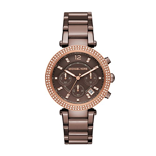 Michael Kors Women's Parker Watch Quartz Mineral Crystal MK6378