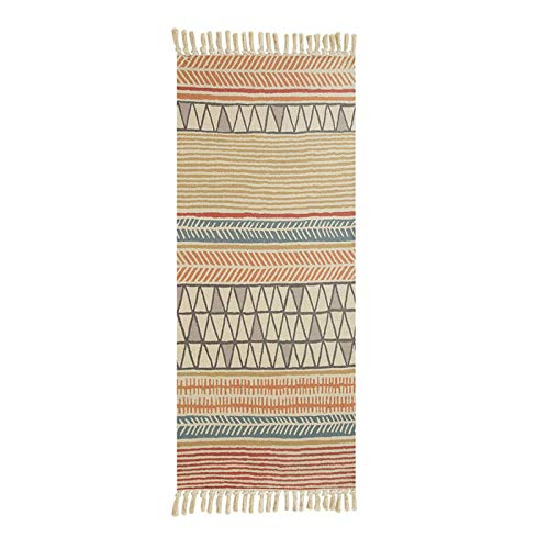 N-B 60x180cm Retro Rugs And Carpets For Home Living Room Soft Tassel Home Carpets Table Runner Door Mat Home Decoration