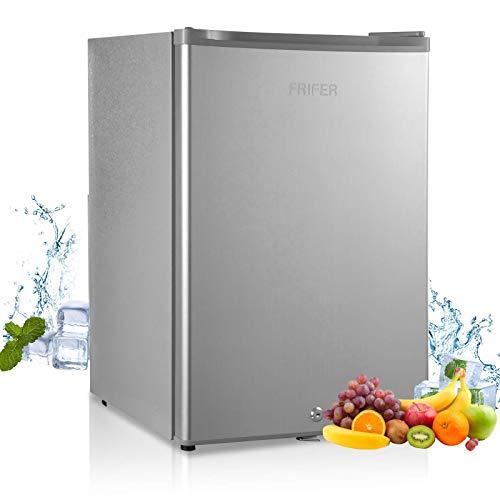 Frifer Mini Fridge 71 liters, Small Fridge Portable, Mini Refrigerator for...