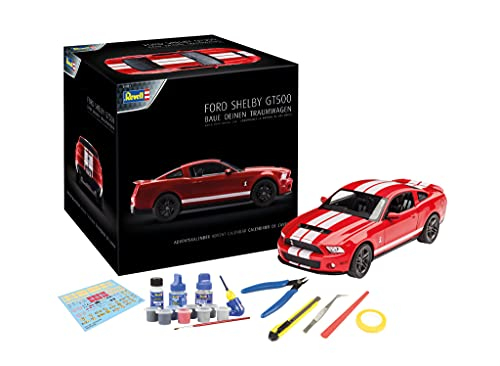 Revell Adventskalender Dream Cars Ford Shelby GT 01031