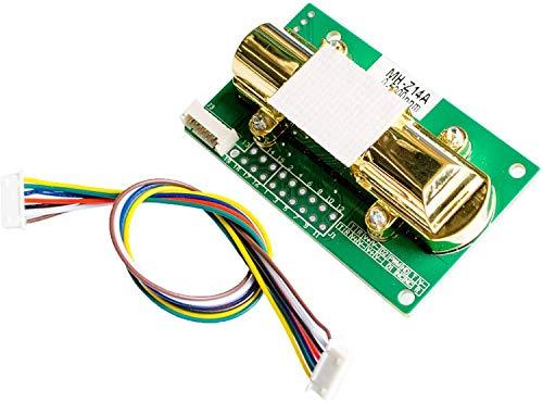 Rango de medici/ón 0-1000 ppm Hti-Xintai medidor Detector de Gas CO de Alta precisi/ón con sonda Medidor de mon/óxido de Carbono
