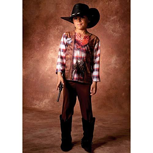 Cesar - B576-003 - Déguisement - Costume Illusion Cowboy - 5 à 6 ans
