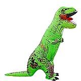 HANGH Disfraz hinchable de dinosaurio Rex, disfraz de Halloween para adultos y niños, disfraz de carnaval, disfraz de Halloween para fantasía, disfraz de dinosaurios