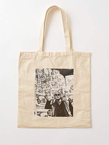 Générique Pop Art 60S Andy Warhol Box Brillo boodschappentassen van zeildoek met handgrepen, boodschappentassen van duurzaam katoen
