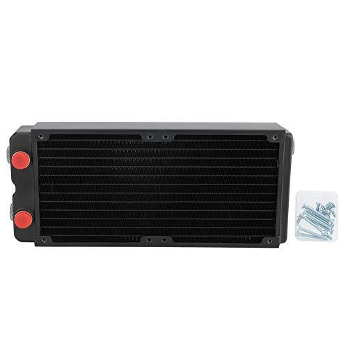 Radiador de refrigeración por Agua - Radiador de Cobre con disipación de Calor de 45 mm de Doble Capa de refrigeración por Agua para Equipos de Belleza e industriales