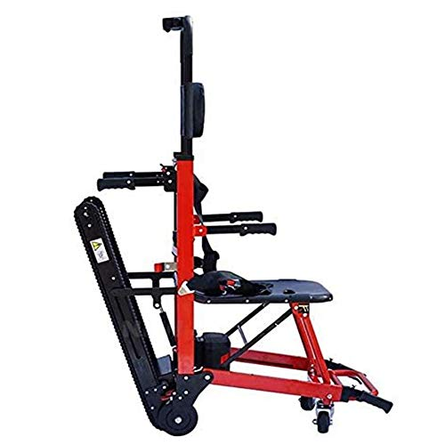 Camilla eléctrica plegable para subir escaleras, silla de ruedas, silla de escalera, ambulancia, silla de escalera, orugas de emergencia, silla de evacuación, ayuda a la movilidad, camilla, carro, a