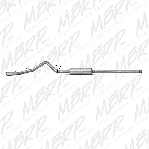 MBRP S5054AL Cat Back, Single Side Exhaust System (Aluminized Steel)