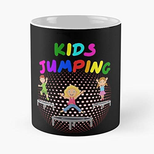 Gift Sports Fitness Workout Jumpstyle Kids Studio Trainer Trampoline Ideas Best 11 Ounce Ceramic Coffee Mug Gift
