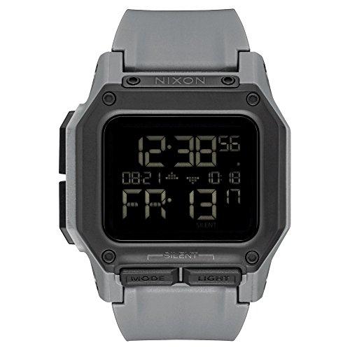 NIXON Regulus All Black Uhr A1180632 Männer Grau