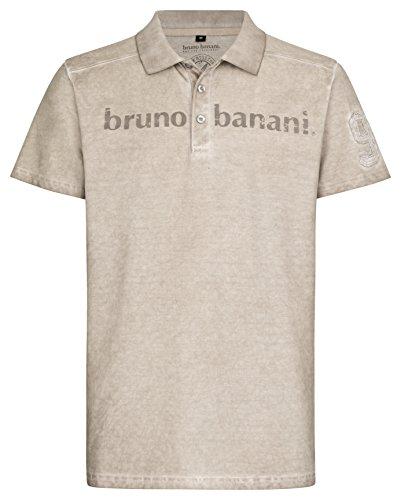 bruno banani Herren Polo Shirt in paloma, Größe L