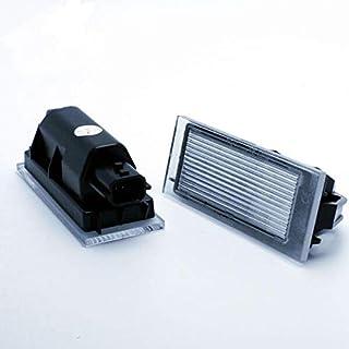 VINSTAR 2X Luces para MATRICULA LED Megane 4 IV Hatchback CANBUS