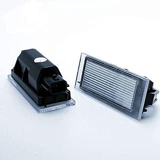 Megane 2 II 3D 5D Fase I II 1 2 Fastback Sedan CABRIOLET VINSTAR 2X Luces DE MATRICULA LED REEMPLAZO R