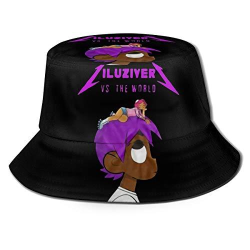 Gerneric Fashion Lil-Uzi-Vert Funny Pattern Summer Breathable Bucket Hat Fisherman Hat Unisex
