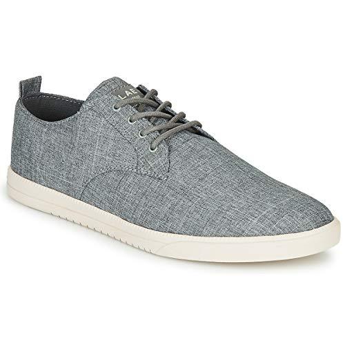 claé Ellington Textile Sneaker Herren Grau - 42 - Sneaker Low Shoes