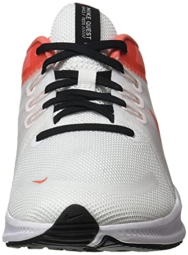 Nike Quest 4, Zapatillas para Correr Mujer, Black White Dk Smoke Grey, 36 EU