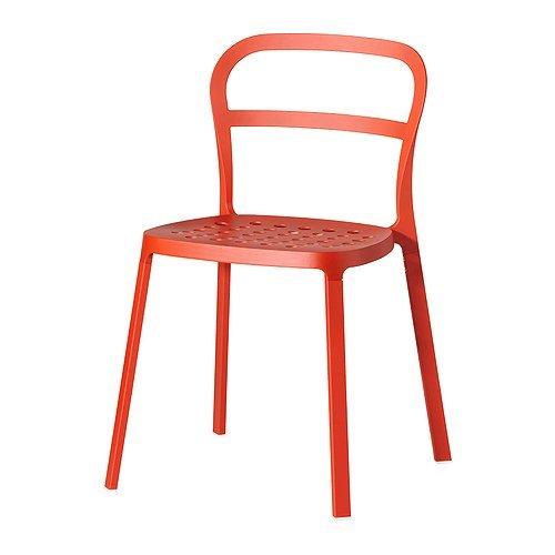 REIDAR チェア, オレンジ IKEA イケア
