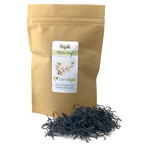 CENALGA Organic Hijiki Whole Leaf - Culinary Quality Hand-Harvested Seaweed - We avoid Plastic 1.5 oz / 42.5 g - Vegan (1)