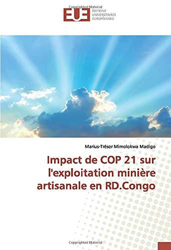 Impact de COP 21 sur l'exploitation minière artisanale en RD.Congo (OMN.UNIV.EUROP.)