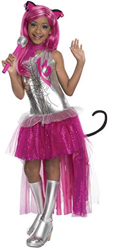 Rubies Monster High Frights Camera Action Catty Noir Costume, Child Medium