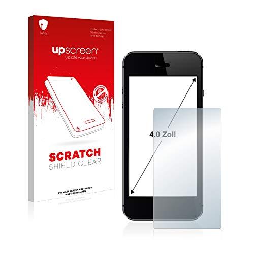 upscreen Schutzfolie für 4 Zoll Navigation (89 x 50.2 mm, 16:9) – Kristallklar, Kratzschutz, Anti-Fingerprint