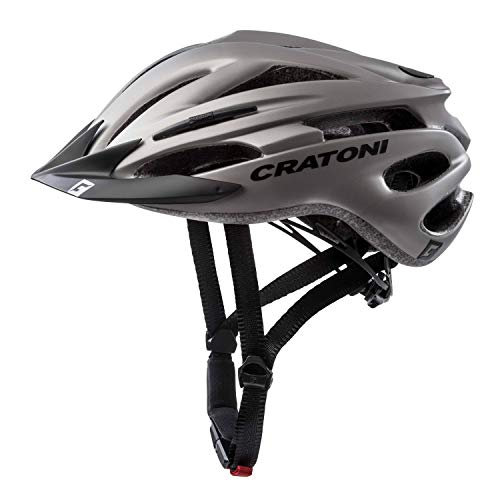 Cratoni Unisex– Erwachsene Pacer (MTB) Fahrradhelm, anthrazit, L-XL (58-62 cm)