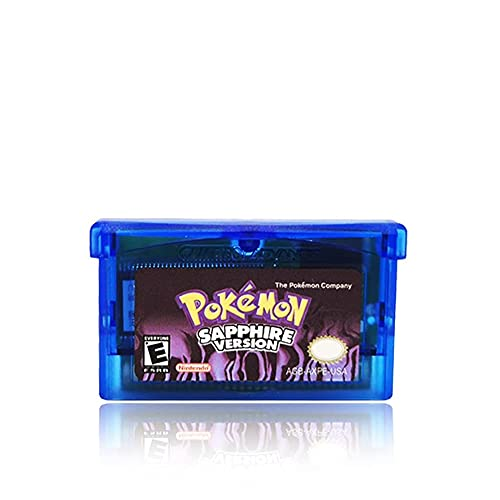 Compatible Nintendo NDSL GB GBC GBM GBA SP game card-Pocket Monster/Pokemon game card (SAPPHIRE VERSION)