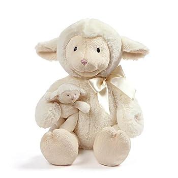 "Baby GUND Animated Talking Nursey Time Lamb with 5 Nursery Rhymes 10"""