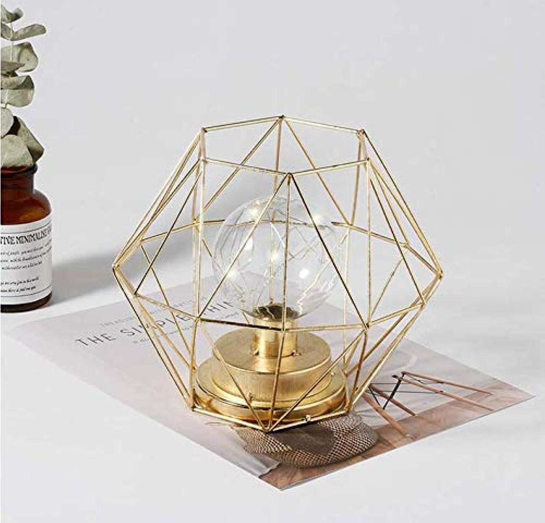 Kronleuchter Nachtlicht mit ausgehhlten Design, aus Eisen gefertigte Lampenkrper für Schlafzimmer, Dekoration, Valentinstag Geschenk, Freundin, Freund