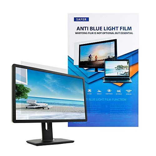 """Waryong Blue Light Blocking Screen Film for 15 Inch(13""""x7.3"""") Laptop Screen Protector/Filter Film Type Anti-Glare Anti-Blue Light Bubble Free Touch-Screen"""