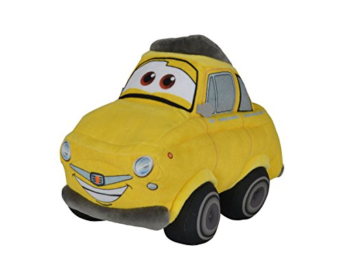 Simba 6315874648 - Disney Cars 3, Plüschauto, Luigi 25 cm