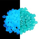 Para-wish 600PCS Glow in The Pebbles Stones for Indoor and Outdoor...