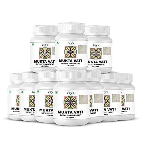 Ivy's Mukta Vati 120 Herbal Tablet, 10 Packs of 120Tabs Each