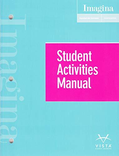 Imagina 4e Student Activities Manual