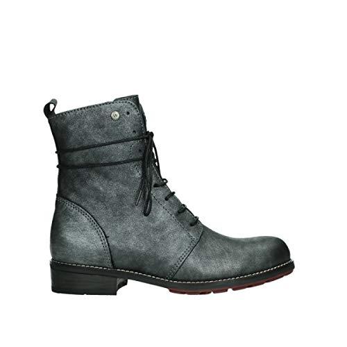Wolky Comfort Boots Murray - 25280 Silber metallic Leder - 39