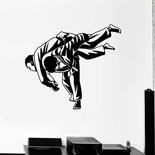 Jiu-Jitsu artes marciales lucha Jiu-Jitsu deportes vinilo gimnasio uso pegatinas de pared