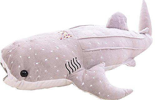 bonways 75cm grandes bebé lindo Super suave peluche de peluche de tiburón ballena delfín almohada muñecas juguetes para chilren los...