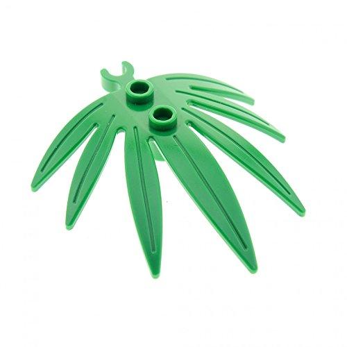 1x LEGO 10884 Pflanze (7 Blätter) 6x5   Grün
