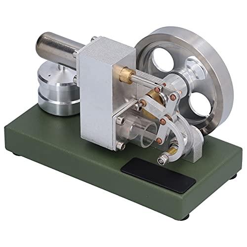 Mini Motor De Motor Stirling De Aire Caliente, Modelo Físico De Motor Stirling, Generador De Energía Eléctrica De Juguete Educativo, Motor Pequeño Motor De Combustión Externa Motor De Vapor