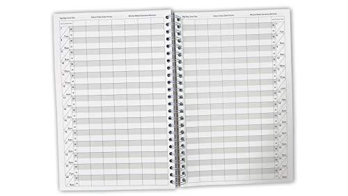 Terminbuch Friseur-Salon und Praxis 1-10 Mitarbeiter 10/15/30 Minuten Takt, Tage frei einzutragen (7 Mitarbeiter 30 Minuten Taktung)