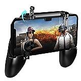 WARMTOWER - Controladores de Juego móviles para PUBG, Mando de Juego móvil, disparadores tácticos y de Disparo táctiles para Sacar Cuchillos/PUBG/Reglas de Supervivencia/Juegos épicos