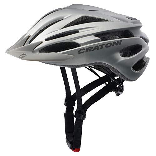 Cratoni Pacer - Casco de ciclismo (tallas L-XL, 58-62 cm), color gris