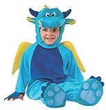Rubie's - Disfraz infantil de dragón para niño, bebé 1-2 años (510067-T)
