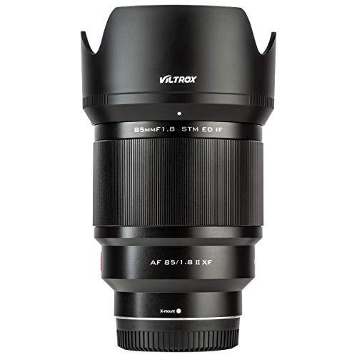VILTROX 85mm f1.8 STM Fuji X Mount Autofokus Vollformatobjektiv Teleobjektiv Porträt Fotografie Objektiv für Fuji X-Mount Kamera X-T3 X-T2 X-T30 X-T20 X-T10 X-T100 X-T200 X -PRO2 X-E3 X-A3 X-A5 X-A20