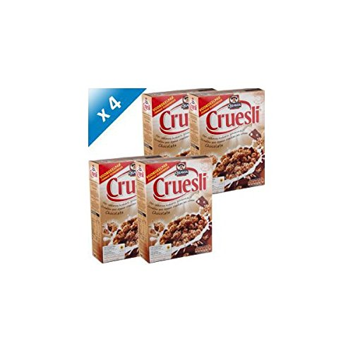 QUAKER - QUAKER Céréales Cruesli Chocolat Lait 965g (x4)