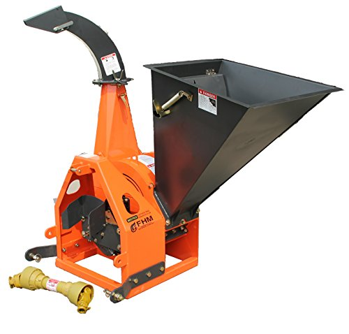 Farmer-Helper 6' Gravity Feed Drum Wood Chipper 3 point Requires a tractor. Not a standalone unit.
