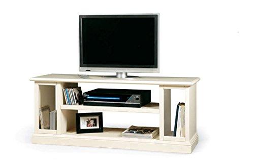 Meuble TV pour livres, CD, banc en bois Art pauvera